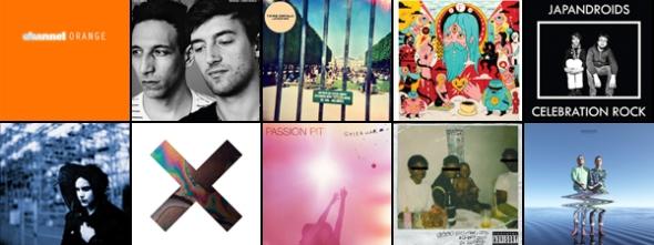10-Best-Albums-of-2012