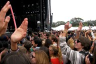 Lands End Crowd at Foals - by Ryan Shulman