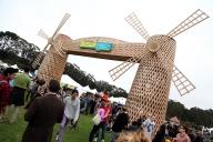 Windmill Scene - by Tim Hampson