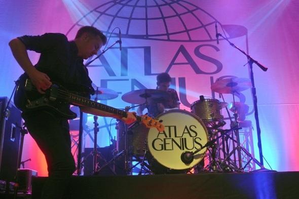 Atlas Genius @ The Fillmore Nov.7th, 2013 #1