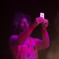 Wayne Coyne During White Denim
