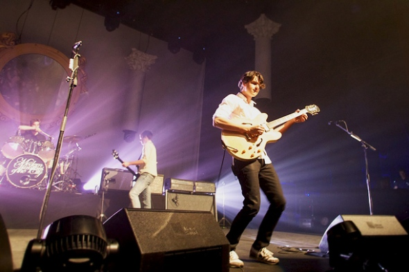 Vampire Weekend at Fox Theater Oakland 4/17. Photo by Marc Fong.