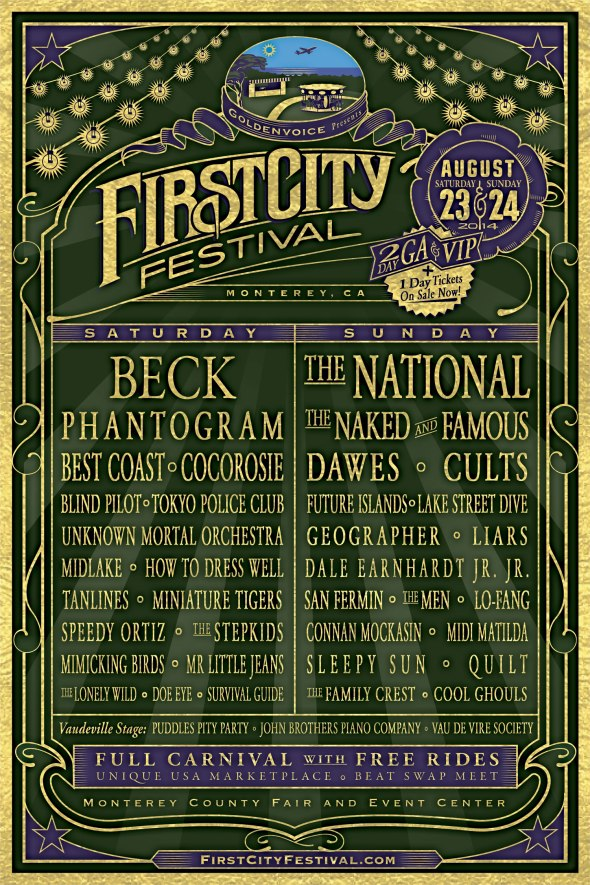 First City Festival lineup
