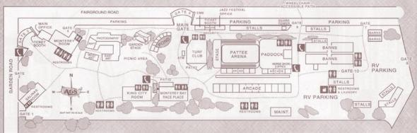 First City Festival map