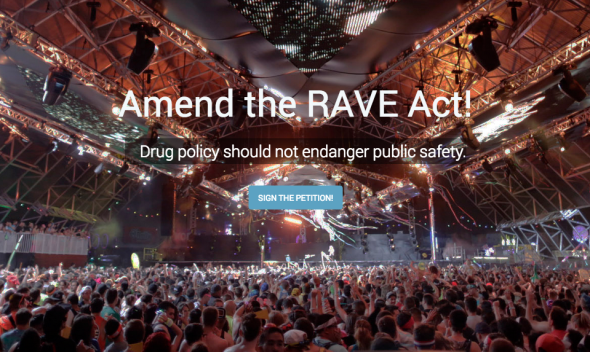 Amend The Rave Act