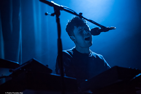 James Blake at The Chapel //