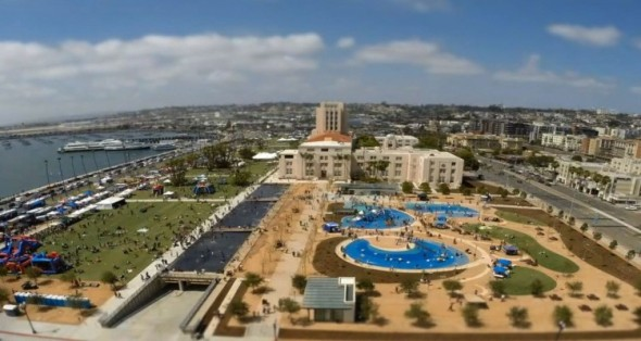 Waterfront Park - San Diego