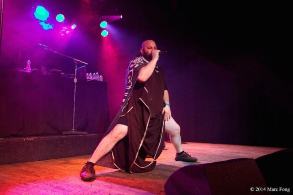 Sage Francis spits brutally-honest lyrics with spoken-word