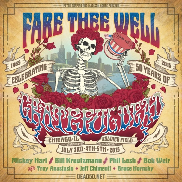 "Grateful Dead 50 - ""Fare Thee Well"" - Soldier Field"