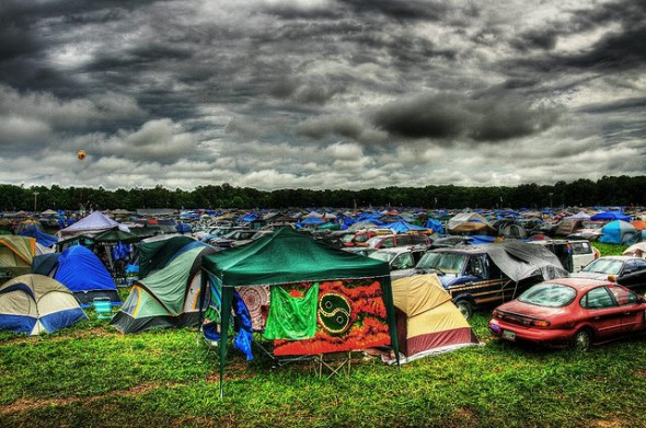 Camping At A Music Festival Soon Youll Want To Check Out This