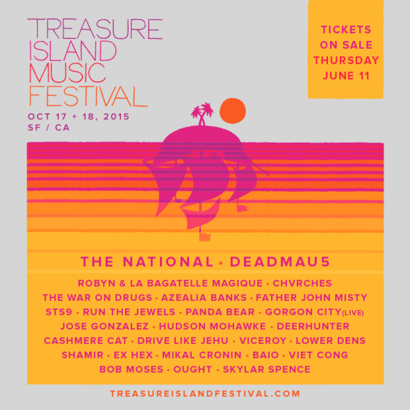 Treasure Island Music Festival 2015