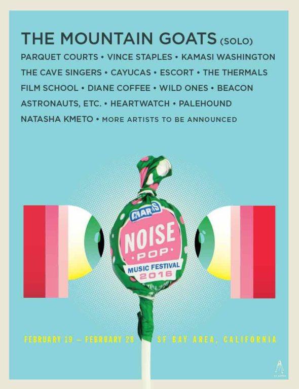 Noise Pop 2016 lineup
