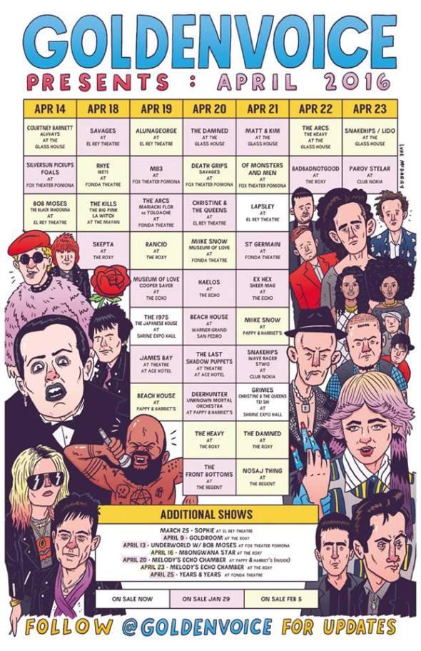 Coachella 2016 sideshows