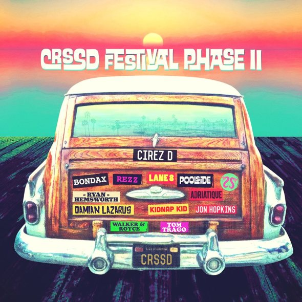 CRSSD Festival 2016 - Phase II lineup