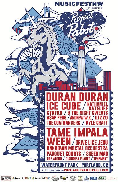 MusicfestNW 2016 lineup