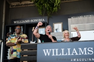 BottleRock Napa Valley 2016 - Williams-Sonoma Culinary Stage - Vida Blue & Mark Ibanez