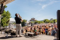 Waterfront Blues Festival 2016 - Ken DeRouchie Band
