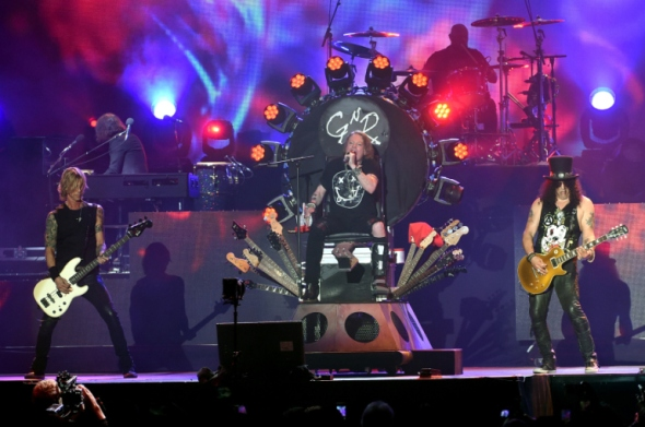 Best Live Music Acts of 2015 #5 - Guns N' Roses