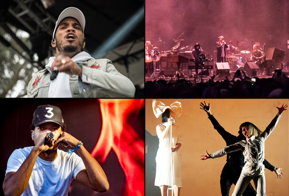 Best live music acts of 2016