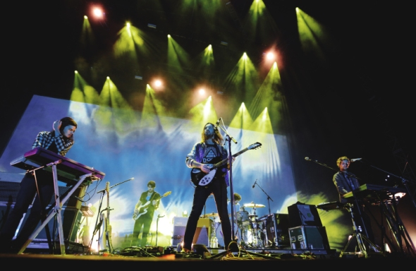 Tame Impala at Greek Theatre Berkeley