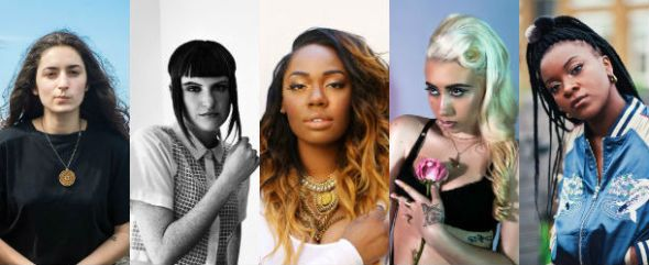 Ray BLK, Kali Uchis, KING, MUNA & Camp Cope
