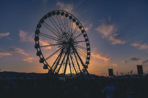 Coachella 2017 - ferris wheel