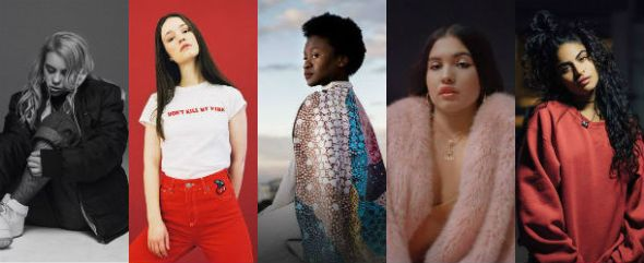 Billie Eilish, Sigird, Sampa the Great, Mabel & Jessie Reyez