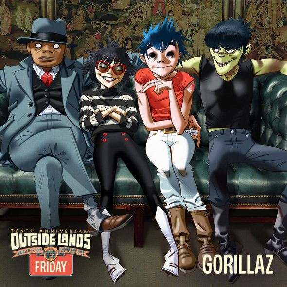 Outside Lands 2017 - Gorillaz