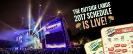 Outside Lands - 2017 schedule