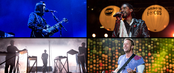 Best live shows of 2017 - The xx, Miguel, Moderat & Coldplay - featured