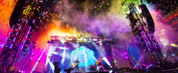 Coldplay at Levi's Stadium