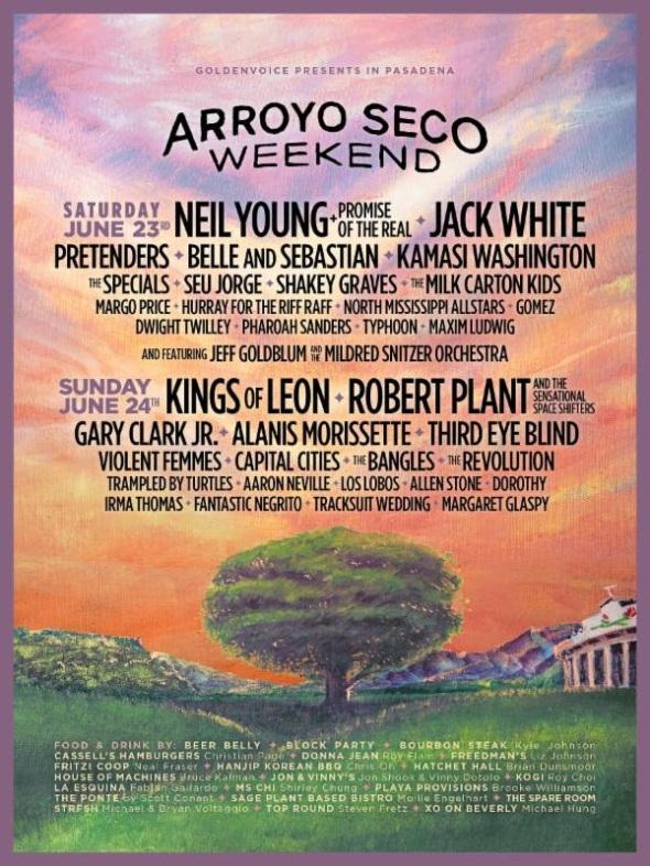 Arroyo Seco Weekend - 2018 lineup