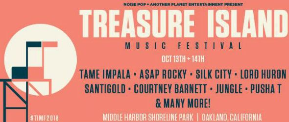 Treasure Island Music Festival - 2018 lineup