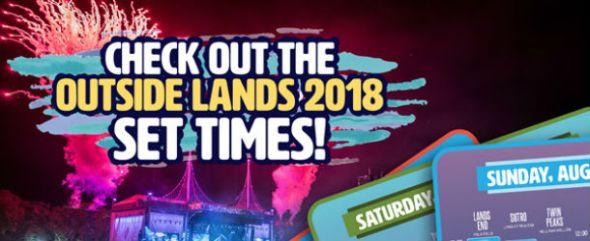 Outside Lands - 2018 schedule
