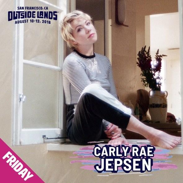 Outside Lands 2018 - Carly Rae Jepsen