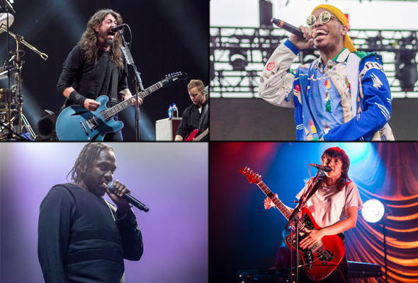 Best live shows of 2018 - Foo Fighters, NxWorries, Pusha T & Courtney Barnett