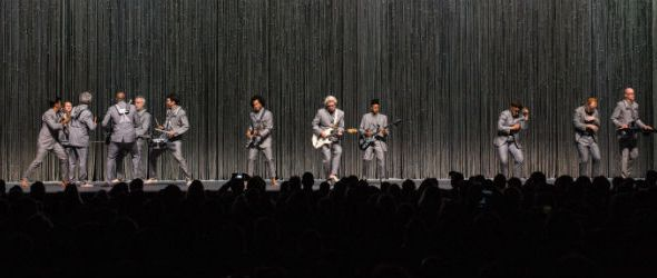David Byrne at Bill Graham Civic Auditorium