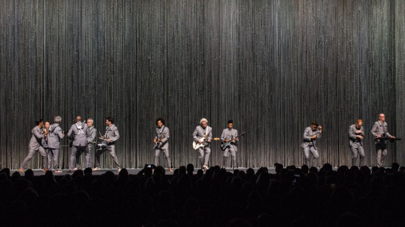 David Byrne at Bill Graham Civic Auditorium