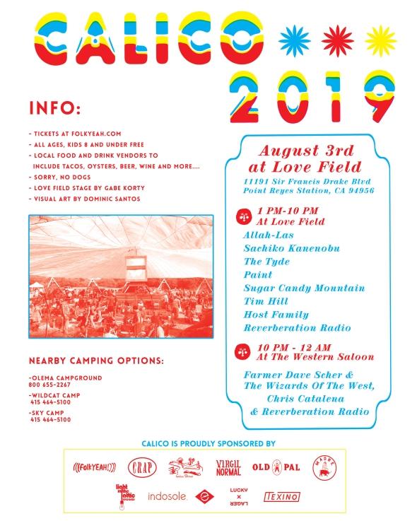 CALICO 2019 - festival details