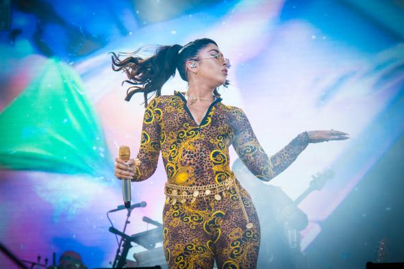 Kali Uchis at Smokin Grooves Fest - Rochelle Shipman